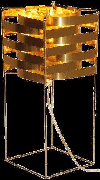 Ganymède lampe cuivre