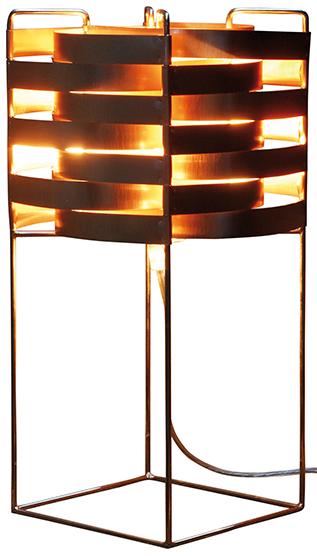 Ganymède lampe saumon