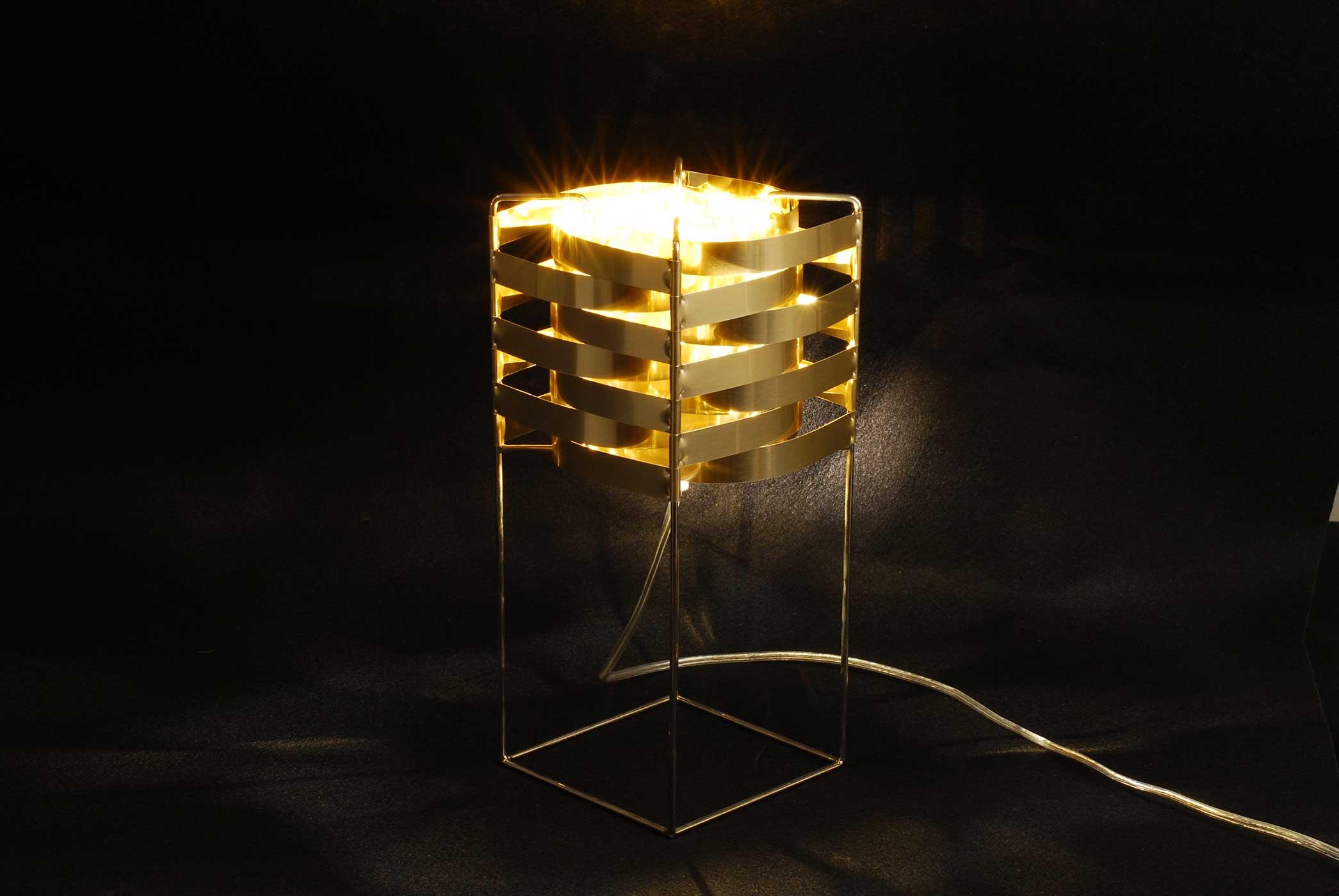 Ganymede 32 Gold  5 Superbe Lampe or Kdj5